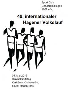 49. Volkslauf Hagen-Emst